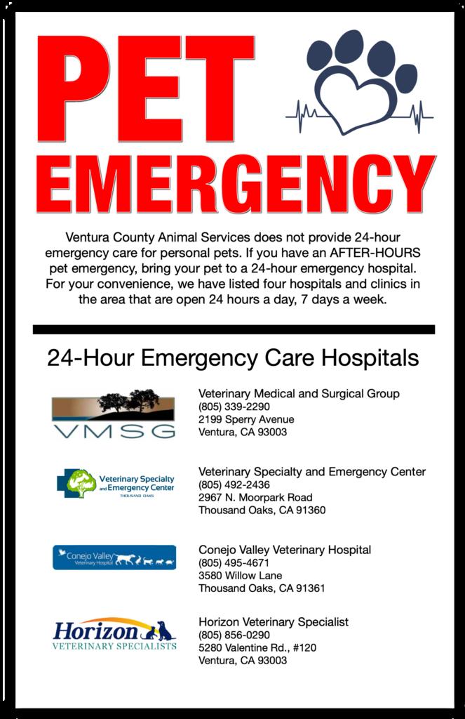 24 Hour Emergency Care Hospitals