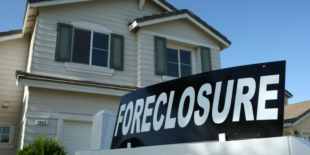 Faceing Foreclosure